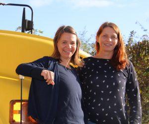 Die Projektleiterinnen Simone Israel und Christine Lorenz-Lossin